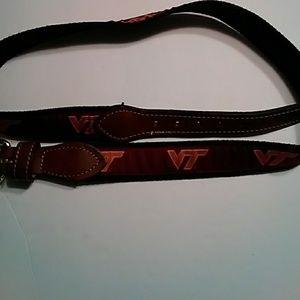 Accessories - NWOT Women's Virginia Tech Fabric Belt